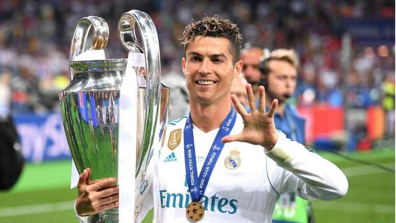 Cristiano Ronaldo is Jovic's idol. GOAL