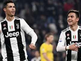 Dybala profite de pouvoir jouer avec les deux meilleurs joueurs du monde. Goal