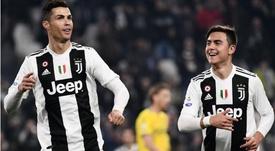 Ronaldo et Dybala ont offert le succès à leur équipe. Goal