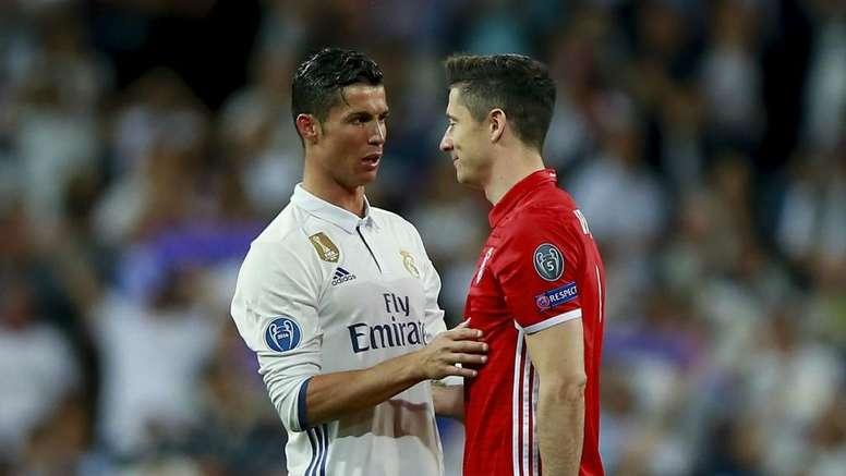 Ronaldo and Ramos wanted me at Real Madrid - Lewandowski. Goal