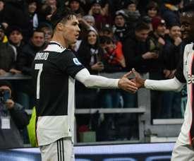Ronaldo scored twice for Juventus against Udinese to make history. GOAL