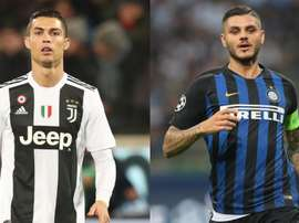 The pair are Serie A's biggest attacking stars. GOAL