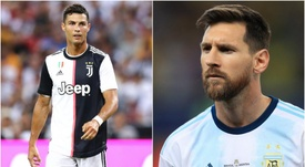 Dybala is full of praise for Cristiano Ronaldo and Messi. GOAL