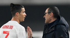 Sarri explained his decision to rest Cristiano Ronaldo. GOAL