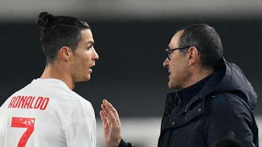 Sarri explained his decision to rest Cristiano Ronaldo. GOAL