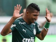 Palmeiras volta a apostar em Rony pelas pontas. EFE