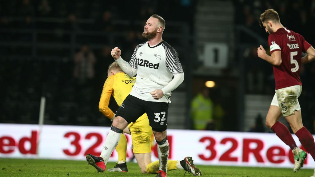 Derby County excited to welcome Rooney's old pals Manchester United