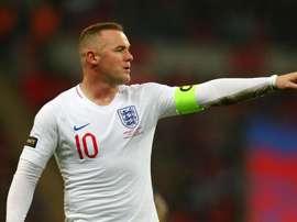 C'est fini pour Rooney. Goal