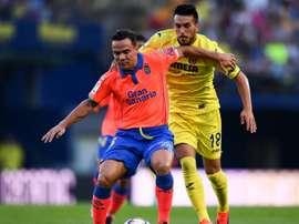 Le joueur de Las Palmas Roque Mesa face à Villarreal. Goal