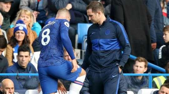 Barkley injury looks a bit nasty, admits Lampard