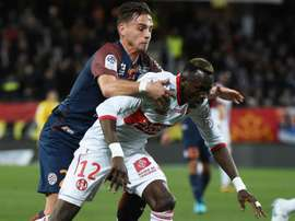 Ruben Aguilar et Issiaga Sylla, Montpellier-Toulouse, Ligue 1. GOAL