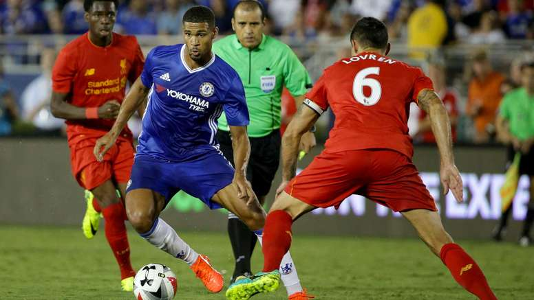 Ruben Loftus-Cheek against Liverpool. Goal