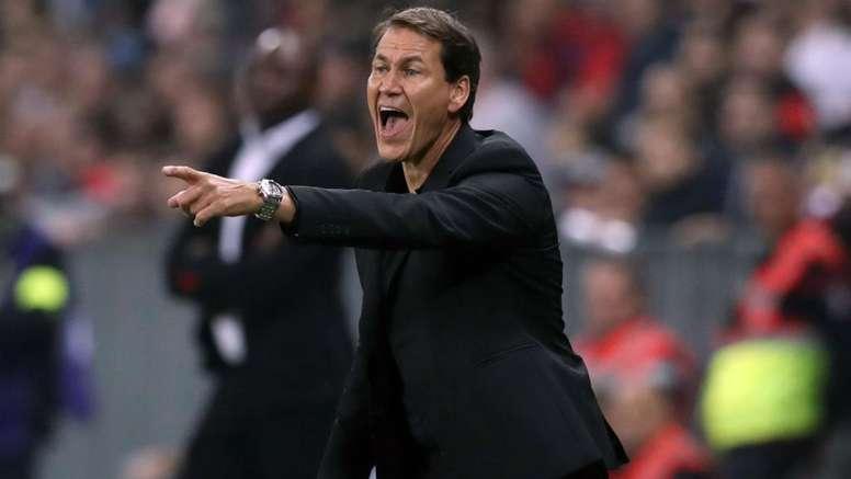 Garcia est satisfait du match. AFP
