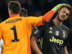 SPAL-Juventus, Rugani resta a casa: affaticamento all'adduttore, Allegri non rischia