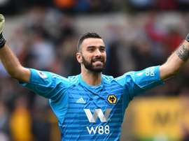 Patricio had joined Wolves in the summer. GOAL