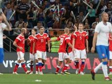 La Russie est toujours en forme. Goal