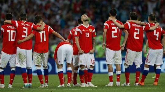 Des Russes tout de même victorieux. Goal