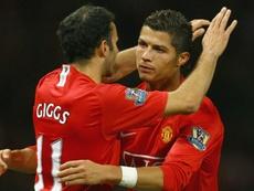Manchester United - Giggs raconte Ronaldo, du plongeur à l'homme providentiel. AFP