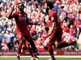 Salah et les Reds assurent leur place dans le Big Four. Goal