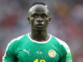 Mané suspendu pour le premier match du Sénégal. Goal
