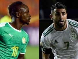 Final da Copa Africana de Nações terá outro duelo Mané x Mahrez.