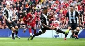 Mane and Salah were back in style against Newcastle at Anfield. GOAL