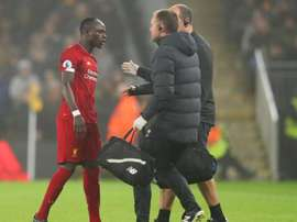 Mané has harmstring issue, Klopp confirms. GOAL