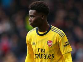 Arteta hopeful of renewals for Saka and young Arsenal talents. AFP