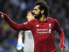 Mo Salah scored against FC Porto in the comfortable victory. GOAL