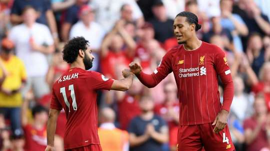 Klopp confident on Van Dijk but Salah to be assessed ahead of Crystal Palace clash. GOAL