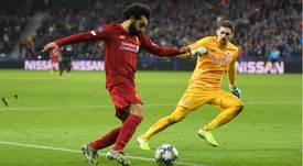 Klopp was impressed with Salah's stunning goal. GOAL