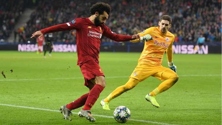 Klopp was impressed with Salah's stunning goal. GOAL