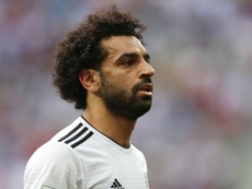Salah has only suffered a muscle strain rather than a rupture. GOAL