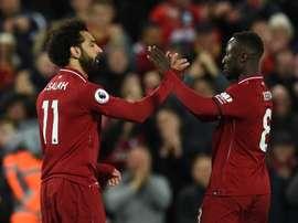 Mané reforça que fez as pazes com Salah. Goal