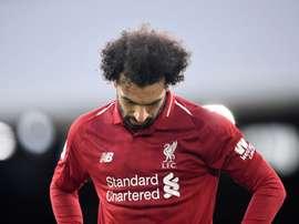 Salah ne convainc pas dernièrement. AFP