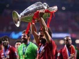 Salah ganha a Champions em ano individual abaixo. Goal