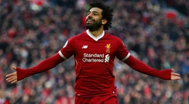 Salah enjoyed a tremendous debut season at Anfield. GOAL
