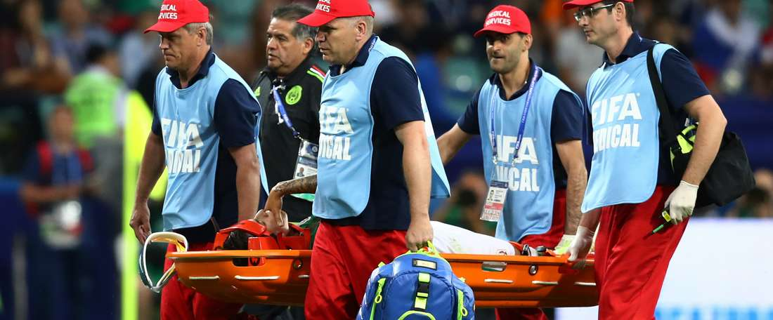 Salcedo ruled out of Confederations Cup due to shoulder injury