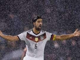 Sami Khedira, Allemagne. GOAL
