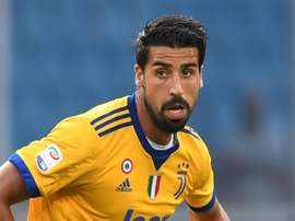 Khedira has been at the club since joined from Real Madrid. GOAL