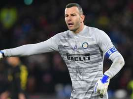 Handanovic fermo per l'Europa League