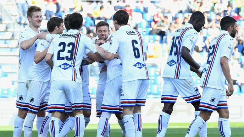 La Sampdoria supera l'ostacolo Sassuolo. Goal