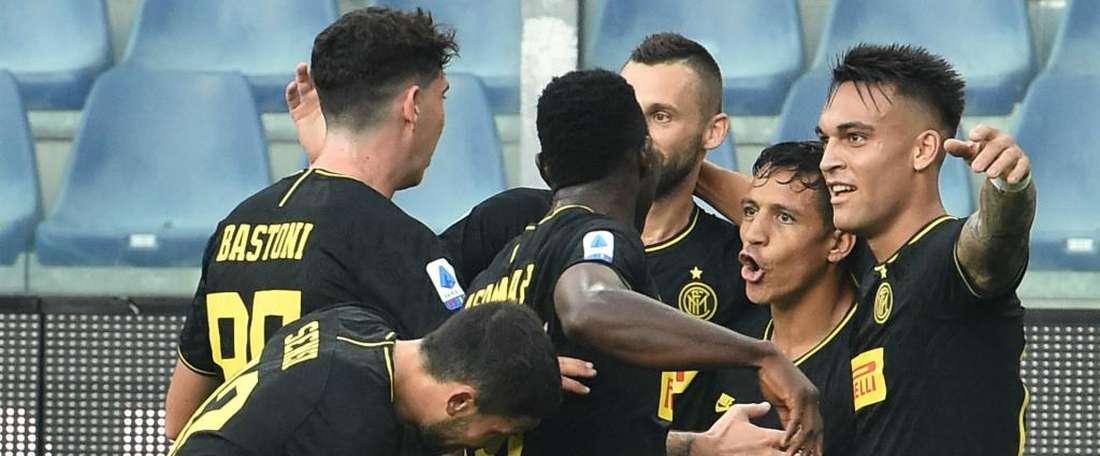 L'Inter fa 6 su 6 anche in 10. Goal