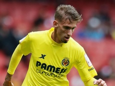 Samu Castillejo in action for Villarreal. GOAL