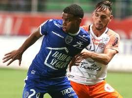 Le latéral droit de Montpellier Ruben Aguilar. Goal