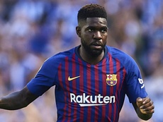 Umtiti is back in Barca squad to face Lyon. GOAL