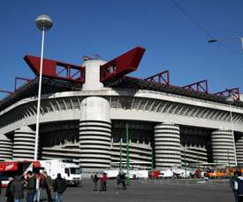 Inter v Ludogorets to be played behind closed doors at San Siro. AFP
