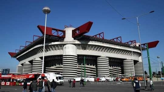 Inter v Ludogorets to be played behind closed doors at San Siro. AFP