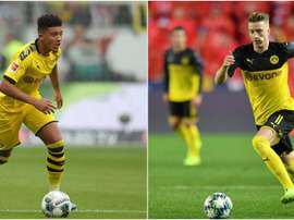 Sancho and Reus' participation in the Bayern game is uncertain. GOAL