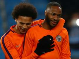 Sterling can be one of the best - Sane hails improving Man City team-mate.